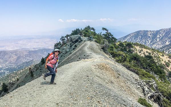 3-peaks Challenge #3 - Mt Baldy, Aug 5,2017