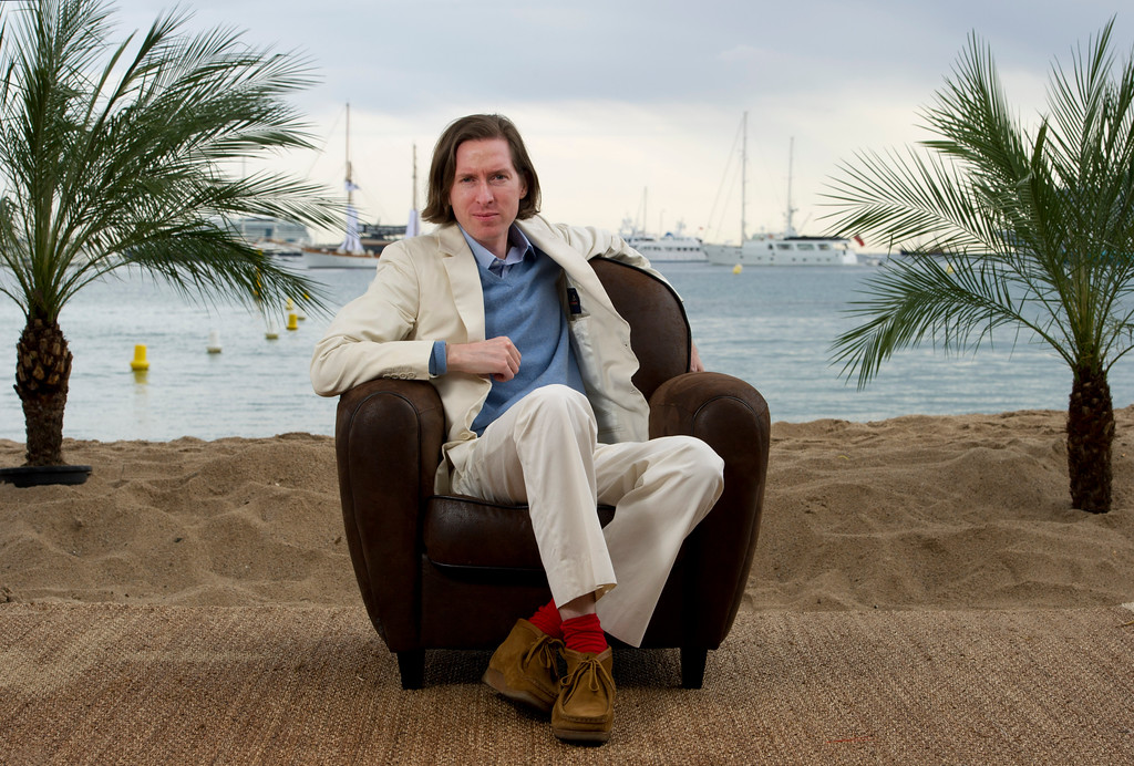 . Director Wes Anderson poses for a portrait to promote his film Moonrise Kingdom at the 65th international film festival, in Cannes, southern France, Friday, May 18, 2012. (AP Photo/Jonathan Short)