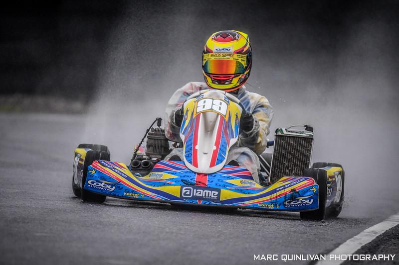 Motorsport Ireland Karting Championship 2018 - Round 8 - Cork