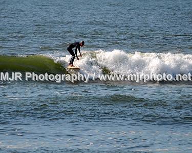 Surfing, Gilgo Beach, NY, (9-4-06)