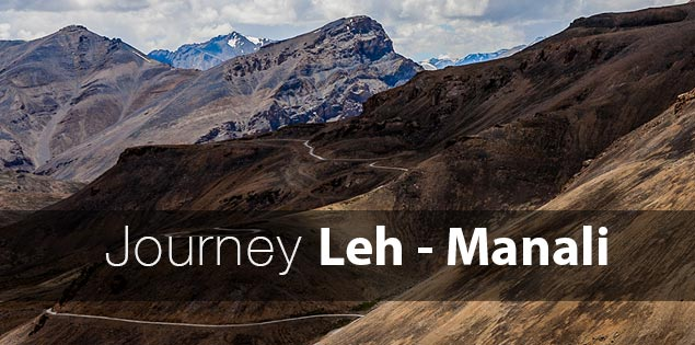 Leh Manali roadtrip in Ladakh