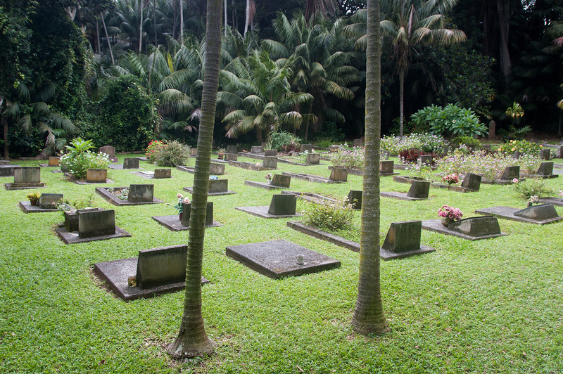 Cemetery in Lord Howe Island