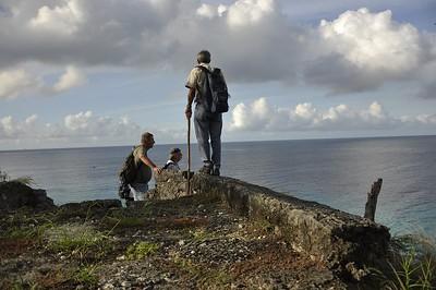 Hike from fort at Vaarsenbaai to fort at Boca Sint Michiel