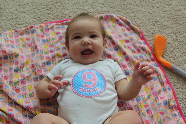 Dannie 9 Months Old
