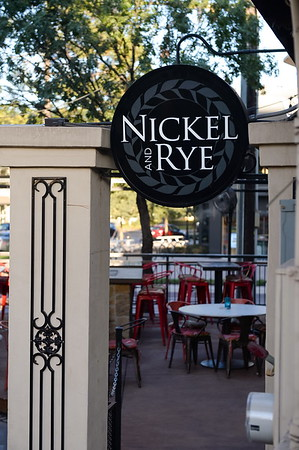 Nickel & Rye Restaurant Downtown Dallas, TX