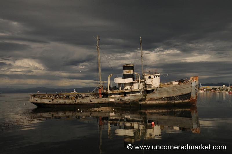 A Beautiful Wreck - Ushuaia, Argentina