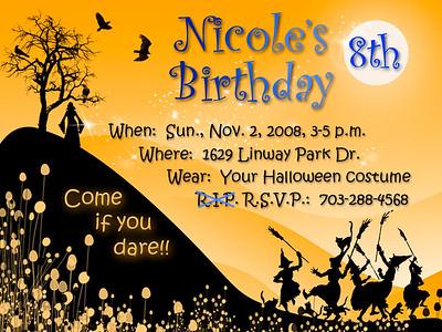 Nicole Birthday 2008