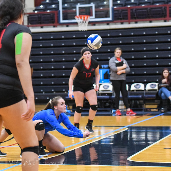 10-03-18 Albright at LVC - Volley Ball