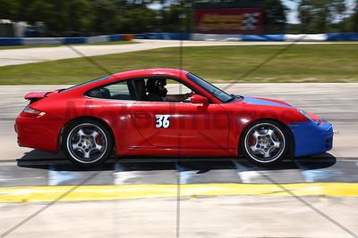 36 Red Porsche