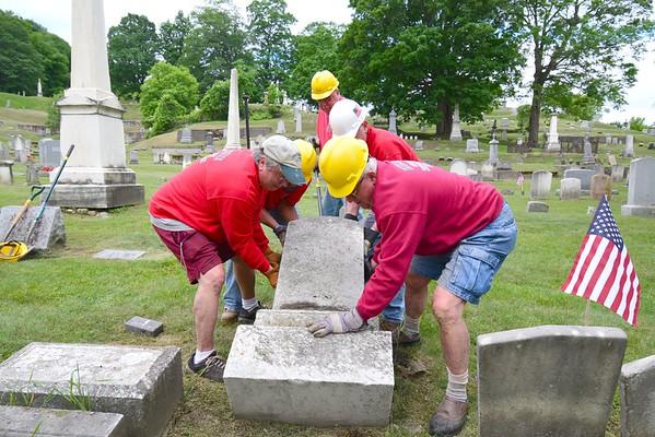 Hillside Cemetery Restoration Project - 060618