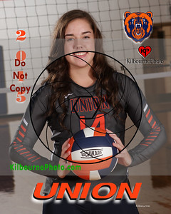 Union High School Volleyball 2015
