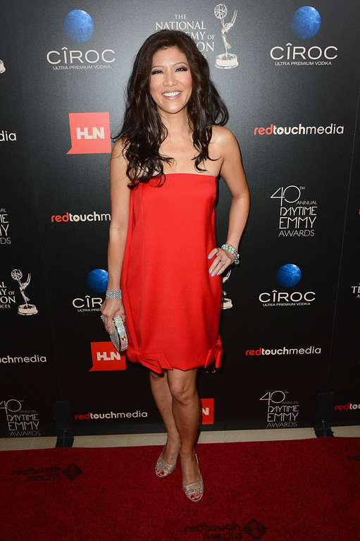 . TV personality Julie Chen attends The 40th Annual Daytime Emmy Awards at The Beverly Hilton Hotel on June 16, 2013 in Beverly Hills, California.  (Photo by Mark Davis/Getty Images)