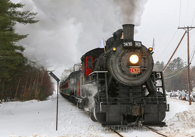 "Conway Scenic Railroad, MBRRE ""Steam In the Snow"" Charter, 1-4-20"
