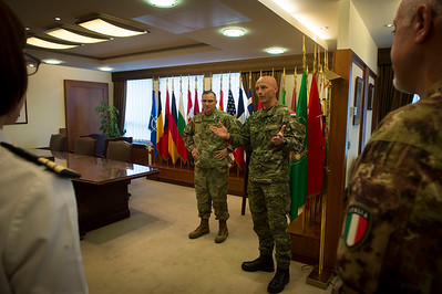 SACEUR/CSEL Coining J9 and JMED