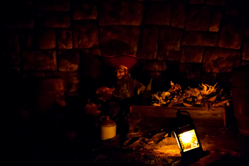 Scenes Inside Pirates Of The Carribean Ride @ Disneyland