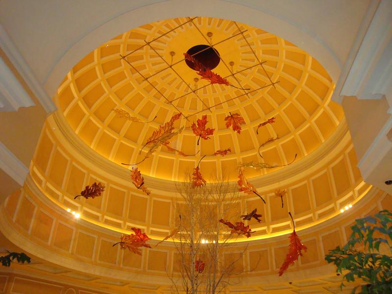 Glass artwork in the Bellagio.