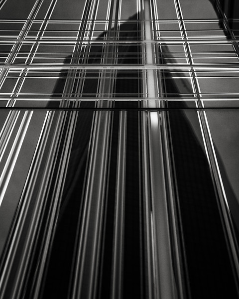 WTC reflected in Zegna store
