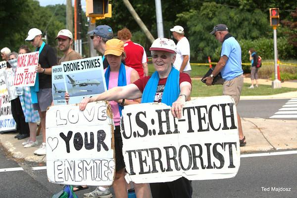 CIA Drone Vigil  7/12/14
