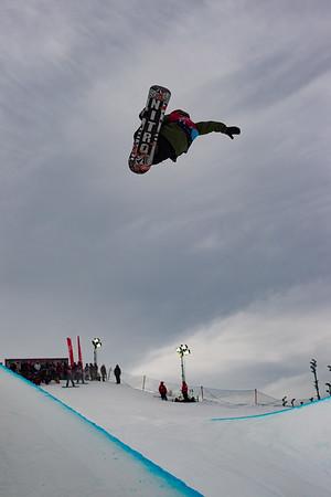 Snowboard Halfpipe Qualification Day