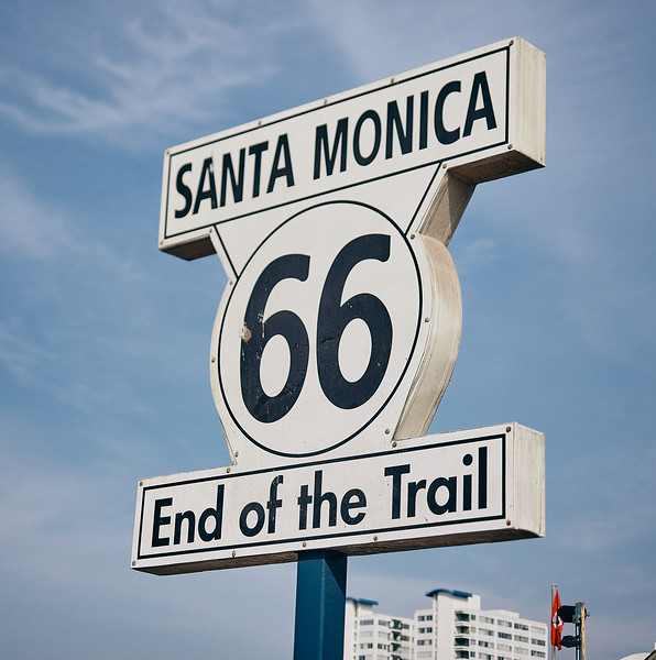 Route 66 - Santa Monica, Los Angeles