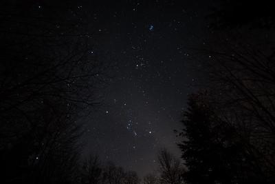 January Night Sky