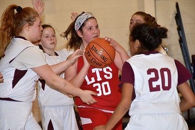 LTS Girls M.S. Basketball vs Arlington photos by Gary Baker