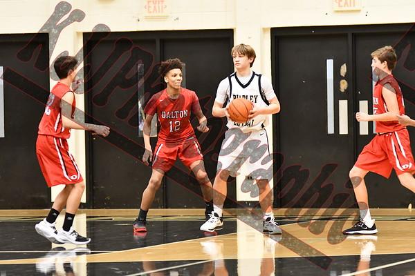 2019 Freshman Boys Dalton Vs Bradley Central @ Jim Smiddy Arena