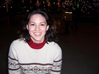 Skating at PPG Place, November 2003