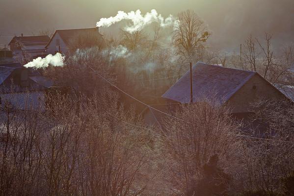 Corrèze hivernale