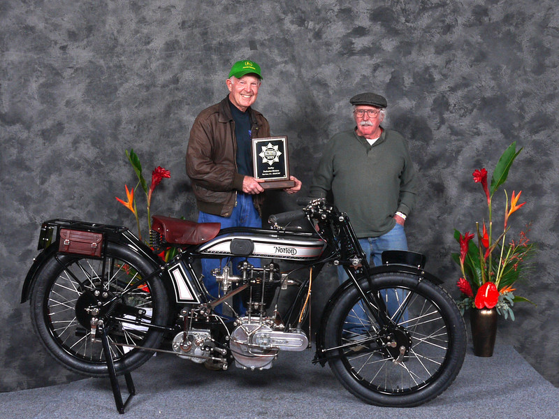 "Paul	Adams, ""Pre-War, Production"",  1924 Norton 1B"