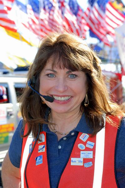 Phoenix VA Veterans Day Parade Coordinator Paula Pedene