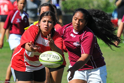 Girls Sevens at Champagne Classic 2016