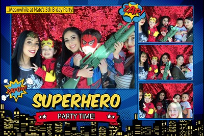 Nate's 5th Birthday Party