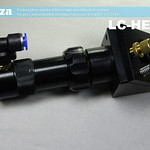 SKU: LC-HEAD/S, Laser Cutting Head with Shorten Length Nozzle, Laser Mirror Holder and Lens Holder (for 50.8FL Lens)