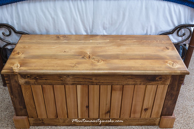 Birch & Cedar Blanket Chest