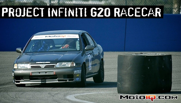 Project Infiniti G20 Suspension Goodies