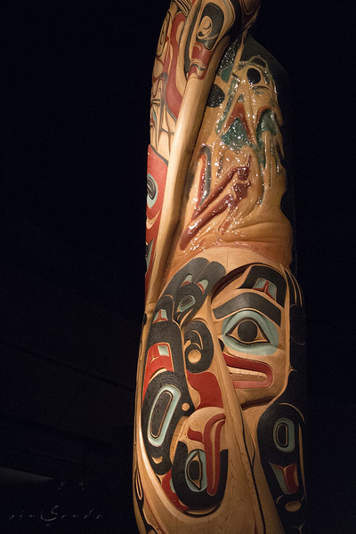 First nations. Totem