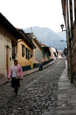 Candelaria district, Bogota, Colombia