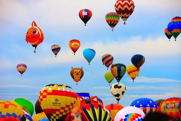 Albequerque Balloon Festival 2009