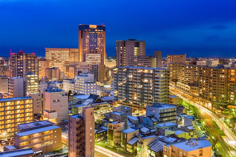 Kanazawa skyline