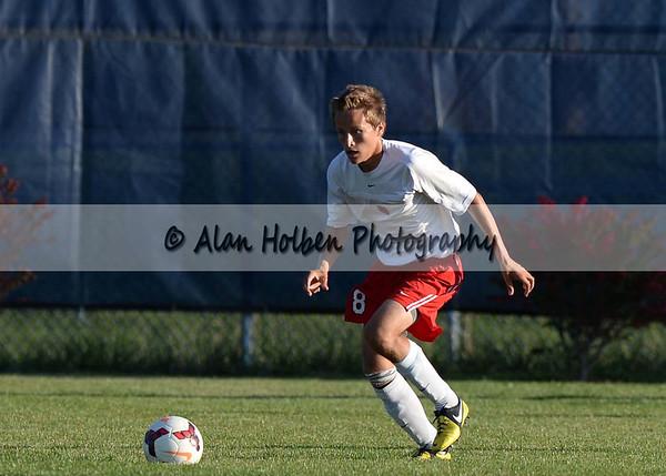 Boys JV Soccer East Lansing at Mason
