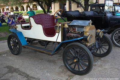 Model T's and A's at the Ft. Worth Stockyards