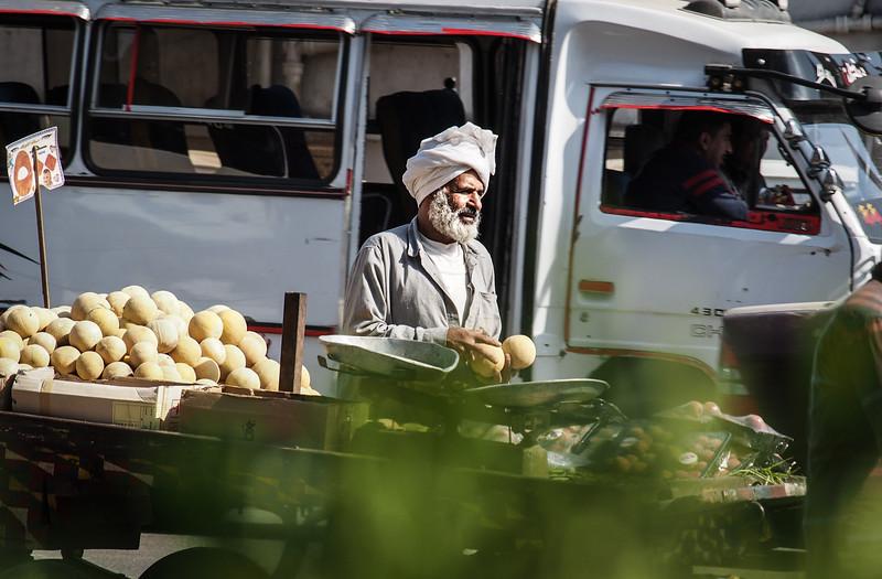 the melon man | Cairo Dokki