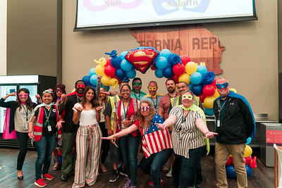 QVC Superhero Rally