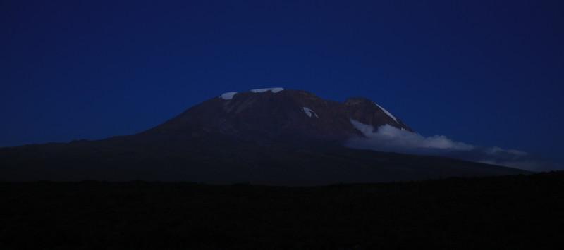 Kilimanjaro at dusk
