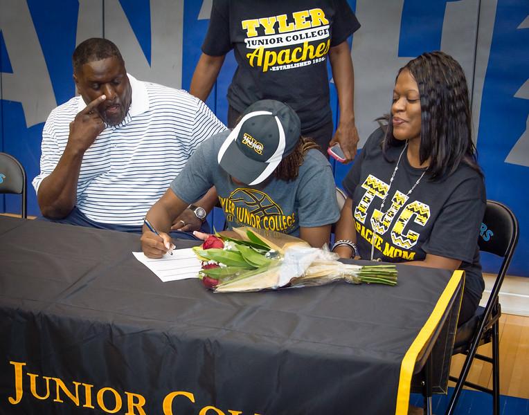 Jasmine, William,s Scholarship, Signing, 05-15-15, 2015, NCHS-18