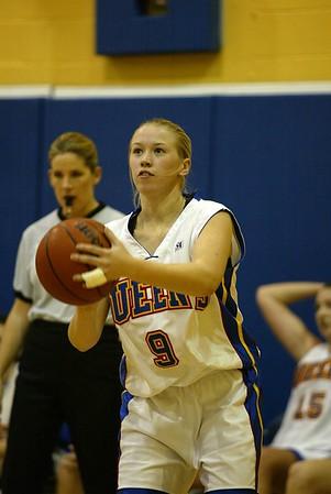 Women's Basketball - Ryerson at Queen's 20021101