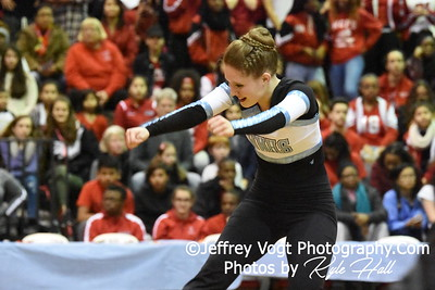 2-13-2016 Walt Whitman HS Varsity Poms at Blair HS MCPS Championship, Photos by Jeffrey Vogt Photography with Kyle Hall