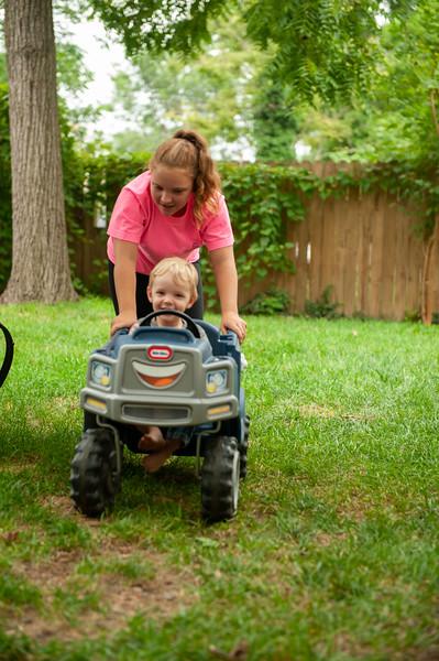 Zephyr & Angie Backyard 7-28
