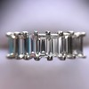 2.35ctw 7-Stone Step Cut Diamond Band 28
